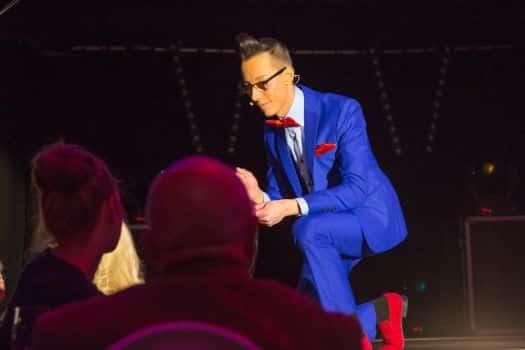 Zauberer in Halle Schkeuditz - Lustig, charmant und verblüffend