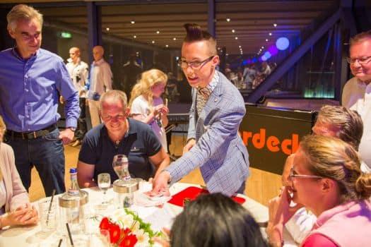 Magier Naumburg - Tim Stüdemann bei der Hochzeit